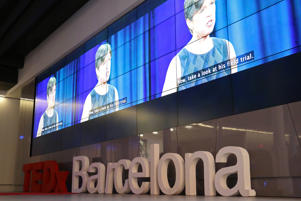 TEDXBarcelona-salon-alimentos-transgénicos-pamela-roland