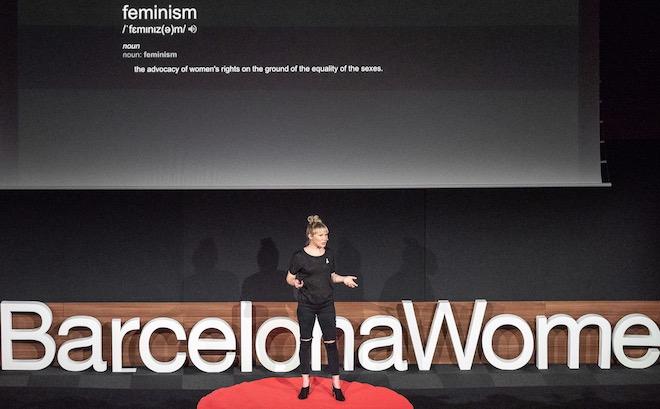 TEDxBarcelonaWomen stage